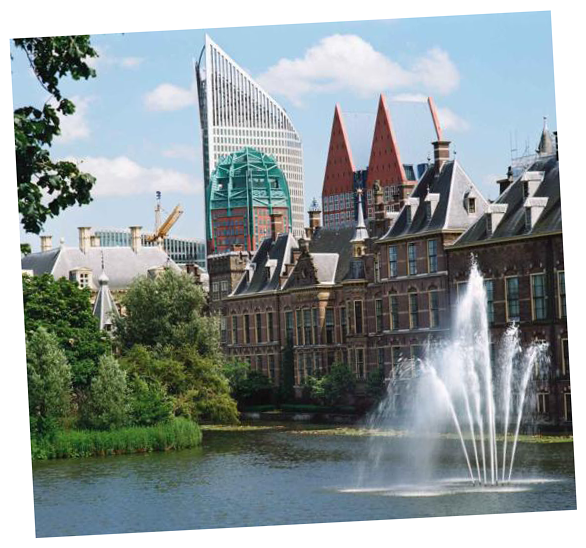 Guided Tours to the Hofvijver in The Hague